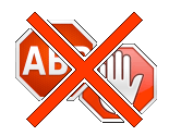 Stop blokovanie reklám